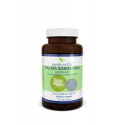 Palma Sabałowa ekstrakt - 25% kwasów tłuszczowych - 60 kapsułek